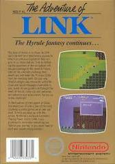 Zelda II The Adventure Of Link - Back | Zelda II The Adventure of Link NES