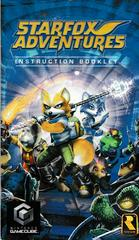 Manual - Front | Star Fox Adventures Gamecube