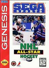 Cover | NHL All-Star Hockey 95 [Cardboard Box] Sega Genesis