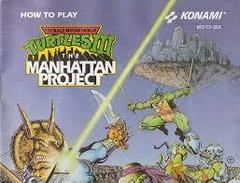 Teenage Mutant Ninja Turtles III - Instructions | Teenage Mutant Ninja Turtles III The Manhattan Project NES