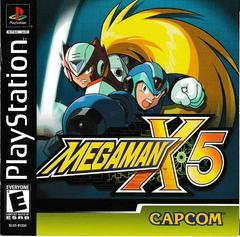 Manual - Front   Mega Man X5 Playstation