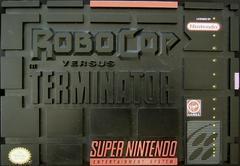 Box | Robocop vs The Terminator Super Nintendo