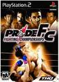 Pride FC   Playstation 2