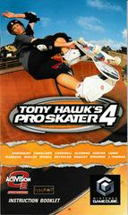 Manual - Front | Tony Hawk 4 Gamecube