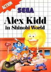 Alex Kidd in Shinobi World [Blue Label] Sega Master System Prices