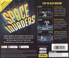 Back Of Case | Space Invaders Playstation