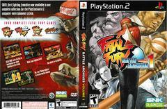 Artwork - Back, Front | Fatal Fury Battle Archives Volume 1 Playstation 2