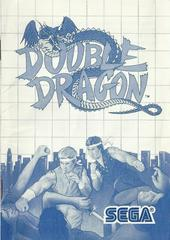 Double Dragon - Instructions | Double Dragon Sega Master System