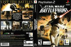 Artwork - Back, Front | Star Wars Battlefront Playstation 2