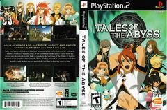 Artwork - Back, Front | Tales of the Abyss Playstation 2