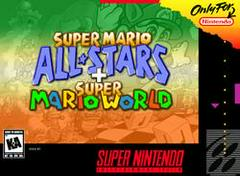 Super Mario All-stars and Super Mario World Super Nintendo Prices