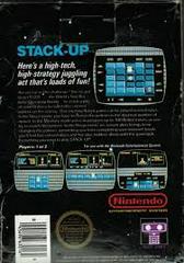 Stack Up - Back | Stack Up NES