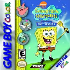 SpongeBob SquarePants Legend of the Lost Spatula GameBoy Color Prices