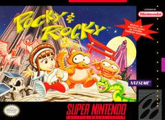 Pocky & Rocky Super Nintendo Prices