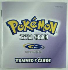 Manual | Pokemon Crystal GameBoy Color