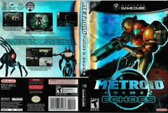 Artwork - Back, Front (UPC Ends 487) | Metroid Prime 2 Echoes Gamecube