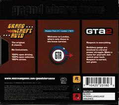 Back Of Box/Slip Cover | Grand Theft Auto [Collector's Edition] Playstation
