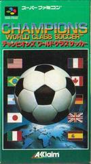 Champions World Class Soccer Super Famicom Prices