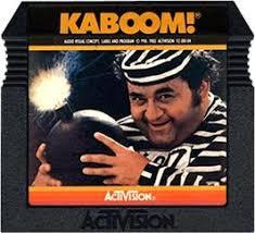 Kaboom! - Cartridge | Kaboom! Atari 5200