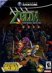 Front Of Box | Zelda Four Swords Adventures [Cable Bundle] Gamecube