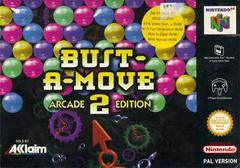 Bust-A-Move 2 PAL Nintendo 64 Prices