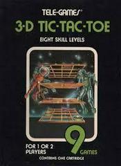 3D Tic-Tac-Toe - Tele-Games - Front | 3D Tic-Tac-Toe [Tele Games] Atari 2600