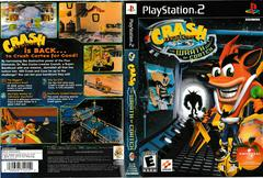 Artwork - Back, Front | Crash Bandicoot The Wrath of Cortex Playstation 2