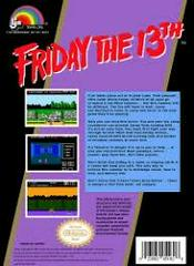 Friday The 13th - Back | Friday the 13th NES