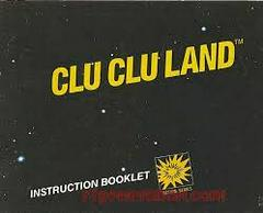 Clu Clu Land - Instructions | Clu Clu Land NES