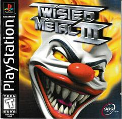 Manual - Front | Twisted Metal 3 Playstation