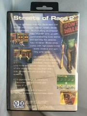 Back Of Case | Streets of Rage 2 Sega Genesis