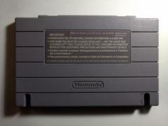 Cartridge Back | Final Fantasy III Super Nintendo