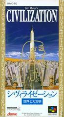 Civilization Super Famicom Prices