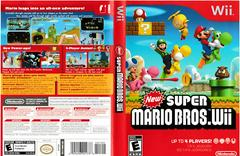 Artwork - Back, Front | New Super Mario Bros. Wii Wii