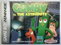 Manual   Gumby vs. the Astrobots GameBoy Advance