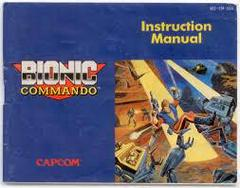 Bionic Commando - Instructions   Bionic Commando NES