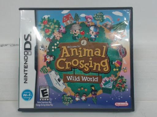 Animal Crossing Wild World Game, Box, Manual   Nintendo DS