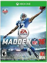 Madden NFL 16 Xbox One Prices