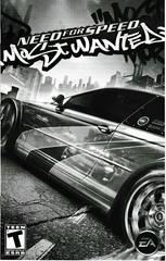 Manual - Front (Black & White) | Need for Speed: Collector's Series Playstation 2