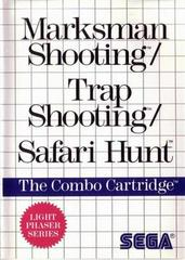 Marksman Shooting and Trap Shooting and Safari Hunt PAL Sega Master System Prices