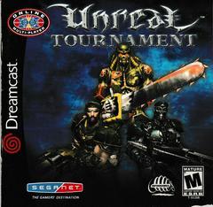 Manual - Front | Unreal Tournament Sega Dreamcast