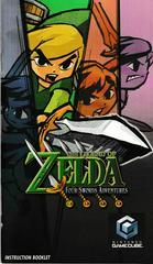 Manual - Front | Zelda Four Swords Adventures Gamecube