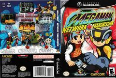 Artwork - Back, Front | Mega Man Network Transmission Gamecube