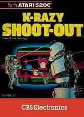 K-Razy Shoot-Out - Front | K-razy Shoot-Out Atari 5200