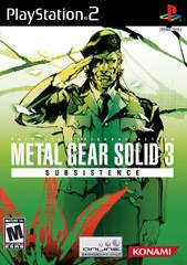 Metal Gear Solid 3 Subsistence Playstation 2 Prices