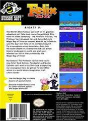 Felix The Cat - Back | Felix the Cat NES