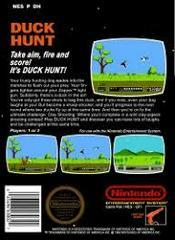 Duck Hunt - Back | Duck Hunt NES