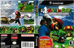 Artwork - Back, Front (Target Exclusive) | Mario Golf Toadstool Tour Gamecube
