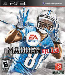 Madden NFL 13 Playstation 3 Prices