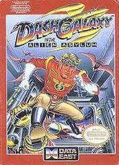 Dash Galaxy In The Alien Asylum - Front | Dash Galaxy in the Alien Asylum NES